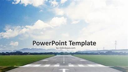 Powerpoint Takeoff Template Airplane Plane Ppt Aviation