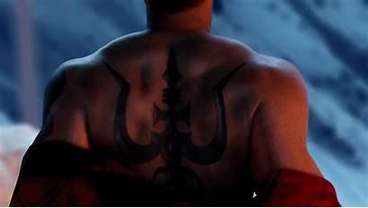 Tattoo Ajay Trident Shivaay Shirtless Devgn Bollywood