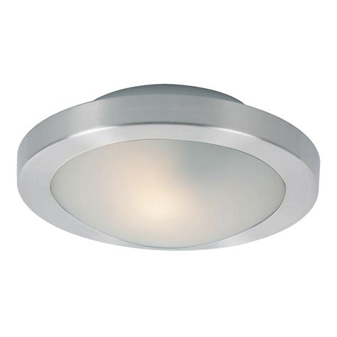 e53831 09sn led piccolo 1 light led flush wall mount