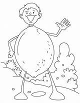 Lime Coloring Pages Cartoon Bestcoloringpages Colouring Sheets sketch template