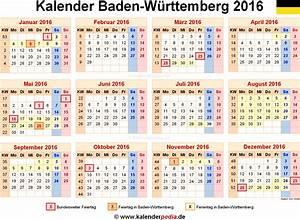 Zaunhöhe Zum Nachbarn Baden Württemberg : kalender 2016 baden w rttemberg ferien feiertage pdf vorlagen ~ Whattoseeinmadrid.com Haus und Dekorationen