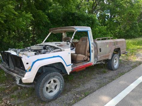 jeep j8 for sale 1978 jeep l j8 rebuilt 360 4x4 jeep truck tail gate