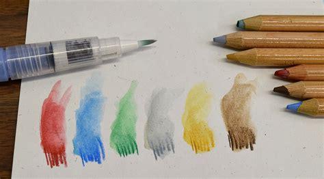 how to use water color pencils prismacolor watercolor pencils