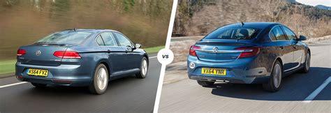 volkswagen vauxhall vw passat vs vauxhall insignia company car clash carwow