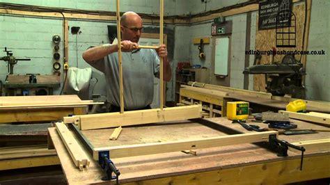 sash  case window construction youtube