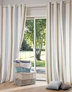 comment bien choisir ses rideaux elle decoration With rideaux maison du monde
