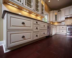 beautiful glazed kitchen cabinets on custom home kitchen With hometown kitchen furniture