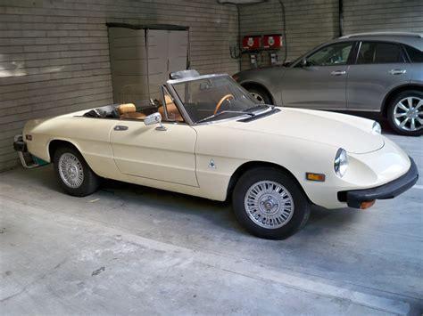 1982 Alfa Romeo Spider  Information And Photos Momentcar
