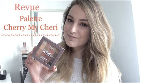Revue Palette Cherry My Cheri L'oreal