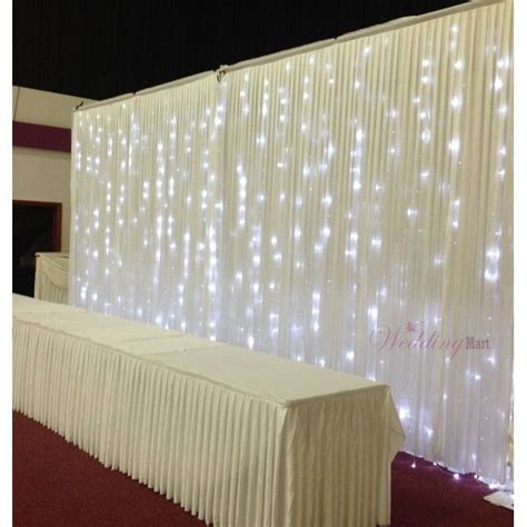 white backdrop with lights 17 best images about wedding backdrops on pinterest