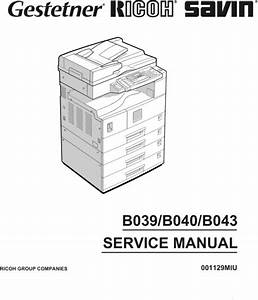 Aficio Manual  U2013 Best Repair Manual Download