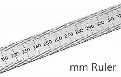 mmcm ruler ruler