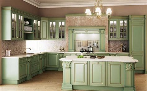 beautiful sage green kitchen pictures   images