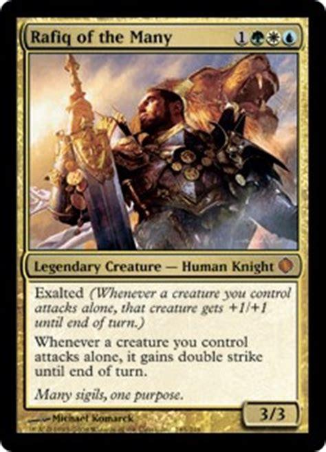 rafiq of the many shards of alara gatherer magic