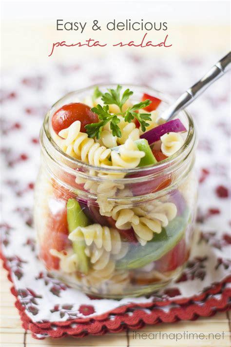 easy tasty pasta salad recipes delicious and easy pasta salad i heart nap time