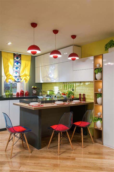 cuisine ilot central design cuisine créative aux influences modernes éclectiques et variées design feria