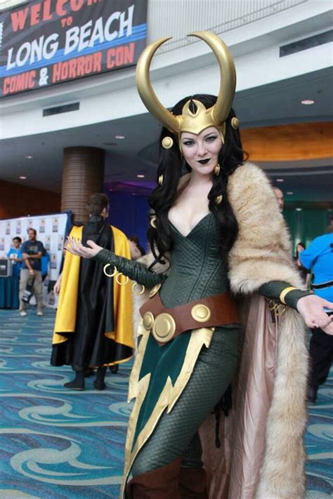 Very Nice Lady Loki Lady Loki Cosplay Loki Costume