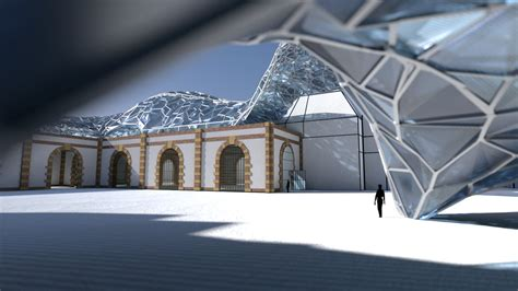 Architectural Experiments (for Blender Conference) With