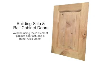 cabinet stiles and rails stile and rail cabinet set