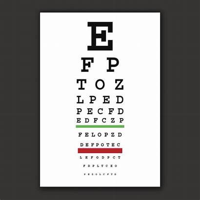 Chart Test Vision Eye Testing Clip Snellen