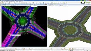 Openroads Technology - Advanced Roundabout Modeling Using Civil Cells