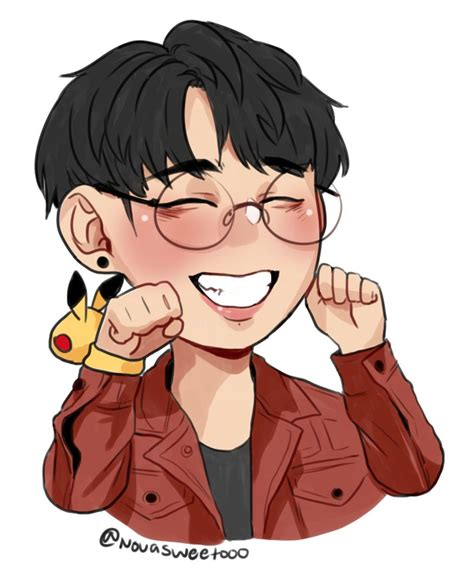 jungkook anime art chibi jungkook by novasweet000 on deviantart