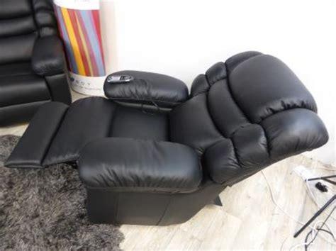 la z boy cool leather recliner built in fridge