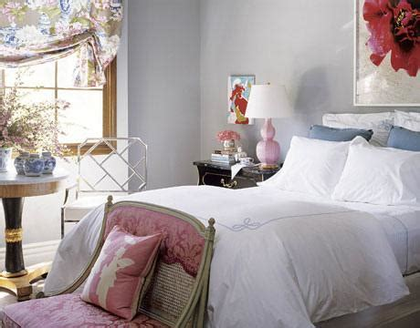 pink damask settee contemporary bedroom benjamin