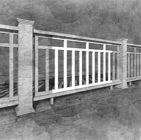 Porch Handrails by The Craftsman Panel The Porch Companythe Porch Company