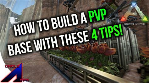 4 Tips On How To Build A Pvp Base!  Official Pvp Ark