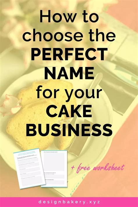 1000 ideas about bakery names on bakeries 25 best ideas about cake business names on