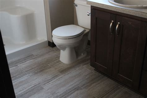 luxury vinyl flooring bathroom bathroom remodeling vanvleet construction 19371