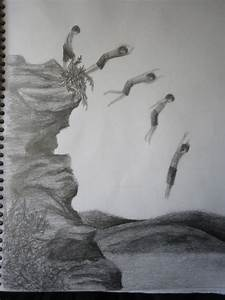 Cliff Diving by BEEancARGH on deviantART