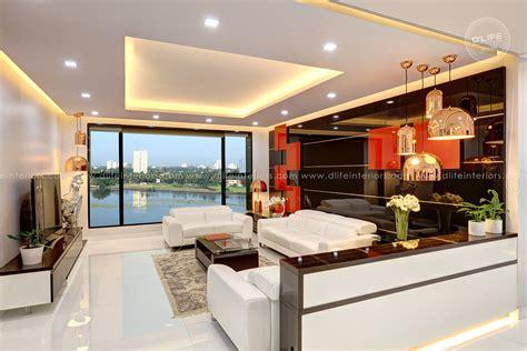 D'life Home Interiors Calicut : Priyadarshan's Cochin Apartment Interiors