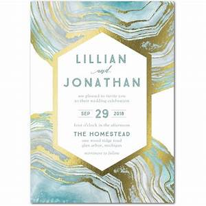 21 gorgeous gold foil printed wedding invitations With wedding paper divas gold invitations