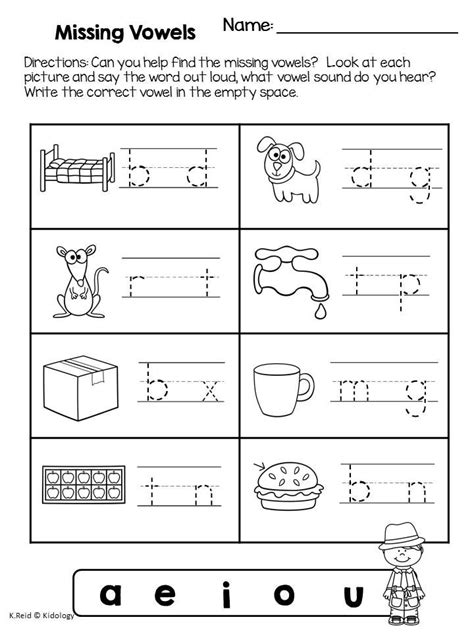 87 best images about worksheets cvc on cut and