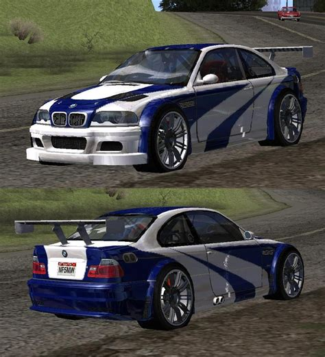 Gta San Andreas 2001 Bmw M3 E46 Gtr Most Wanted (2012