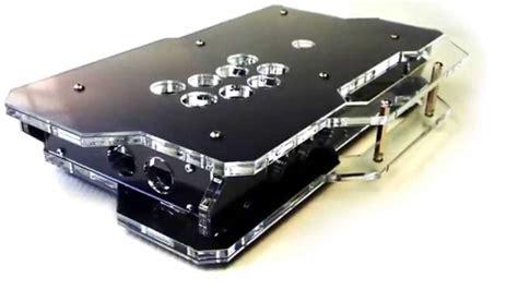 clear acrylic panels x1 custom diy modular arcade stick