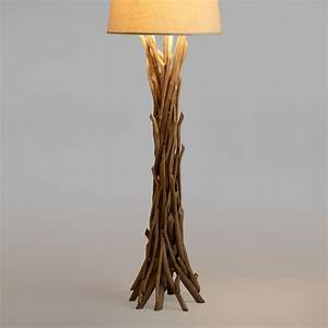 Driftwood Floor Lamp Base World Market