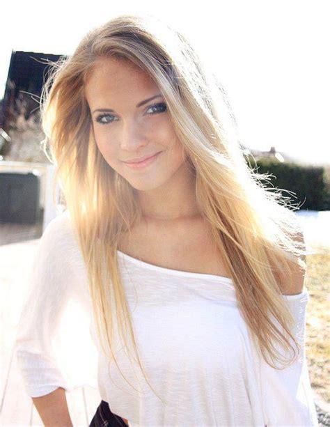 Blonde Cute Girl Hair Long Hair Image 456484 On