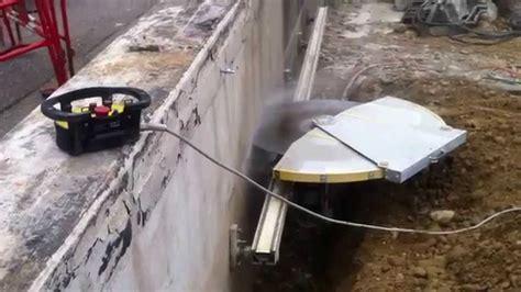 scier du beton cest facile youtube
