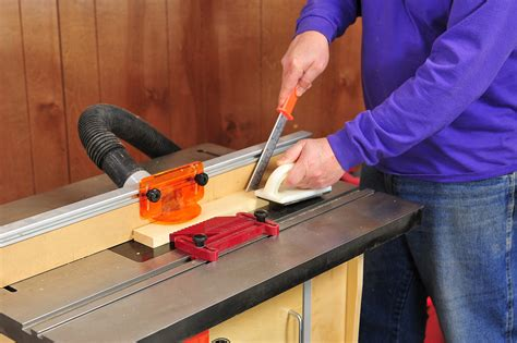 How To Use A Router Table  Awesome Home
