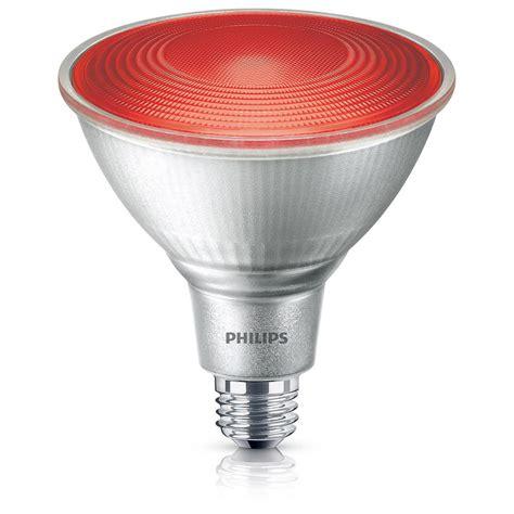 philips  equivalent par  red led flood light bulb