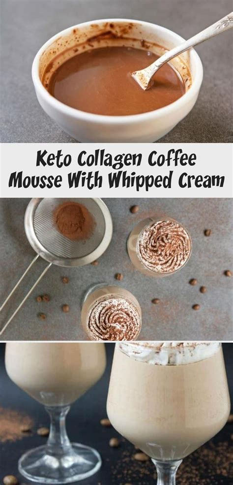 These two ingredients still provide some excellent nutrients and fat that. Keto Collagen Coffee Mousse with Heavy Whipping Cream Low Carb Sugar Free Recipe # in 2020 ...