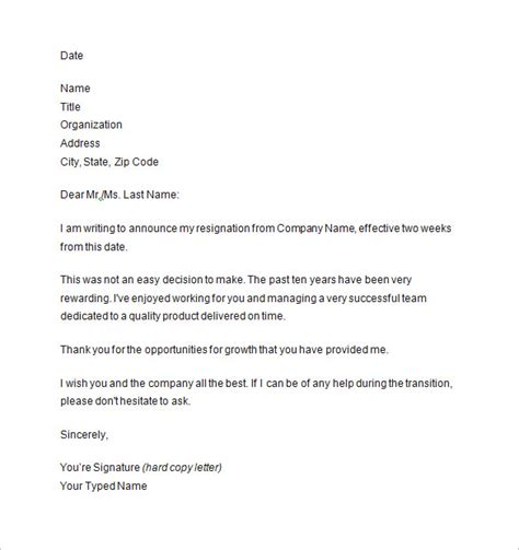 writing   weeks notice letter paystub format
