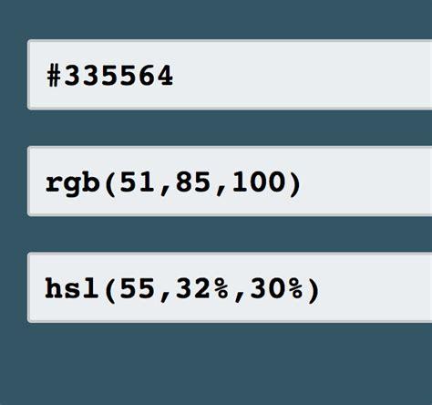 convert hex color to rgb convertir color hexadecimal a rgb y viceversa ayuda