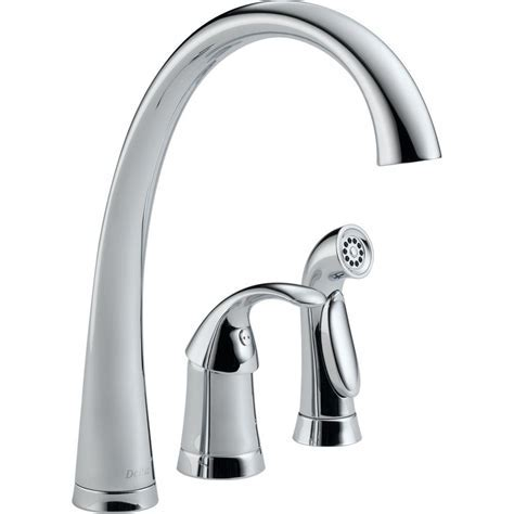 Peerless Choice 2 Handle Wall Mount Kitchen Faucet in