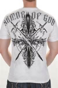 Armor of God Back Tattoo