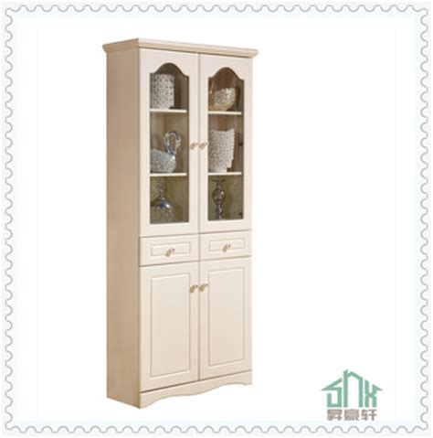 Antique White Corner Bookcase by White Antique Bookcase With Glass Doors Ha C Design In