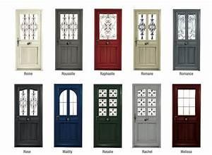 porte bois semi vitree portes et fenetres pvc bois et With porte entrée vitrée alu